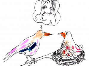 Fantasifågel