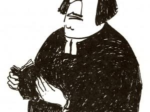 Louise var emot manliga präster.