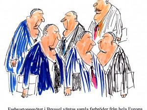 Farbrortoppmötet i Bryssel väntas samla farbröder från hela Europa.