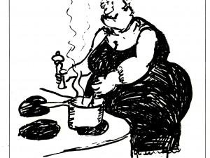 Beatrice var aktiv i en förening för blivande änkor.