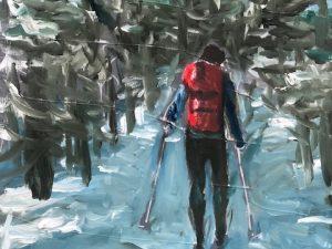 Skidåkaren/The skier