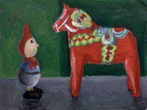 Pipino och dalahästen